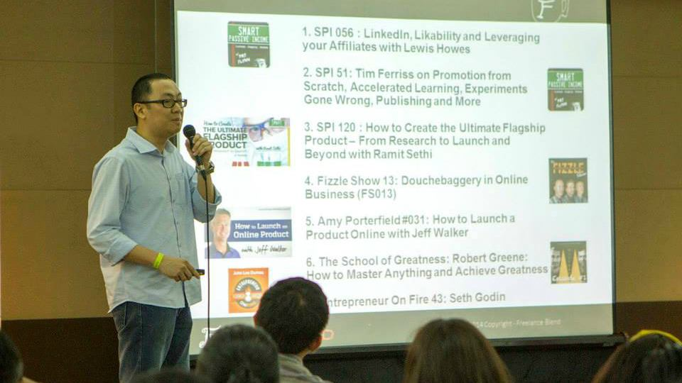 Freelance Camp 2015 | Marv de Leon